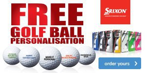 Srixon Free Ball Personalisation - from £19.99